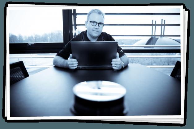 Finn Balle er en del af Innovatoriums kontorfællesskab